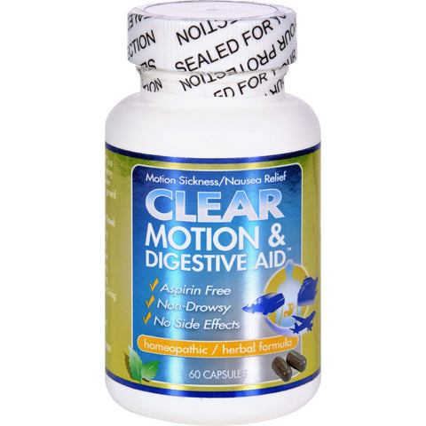 Clear Products Clear Motion And Digestive Aid - 60 Capsules