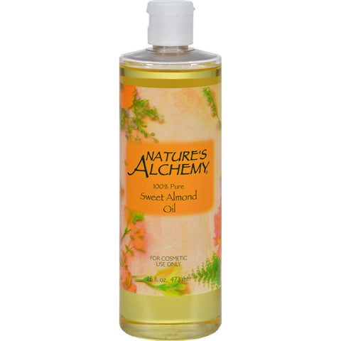 Nature's Alchemy 100% Pure Sweet Almond Oil - 16 Fl Oz