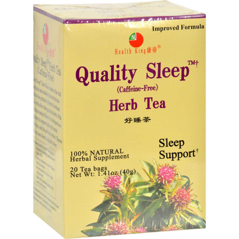Health King Sweet Dream Quality Sleep Herb Tea - 20 Tea Bags