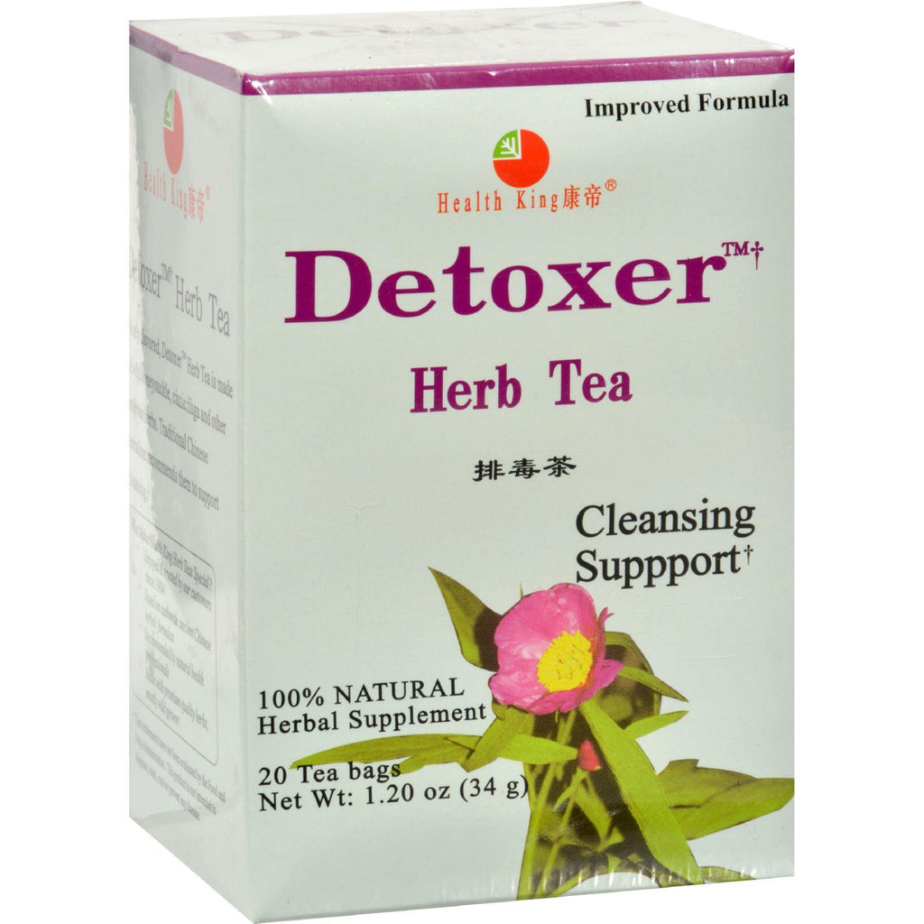 Health King Detoxer Herb Tea - 20 Tea Bags
