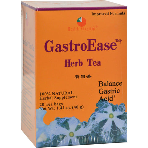 Health King Gastroease Herb Tea - 20 Tea Bags