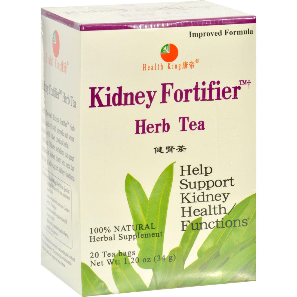 Health King Kidney Fortifier Herb Tea - 20 Tea Bags