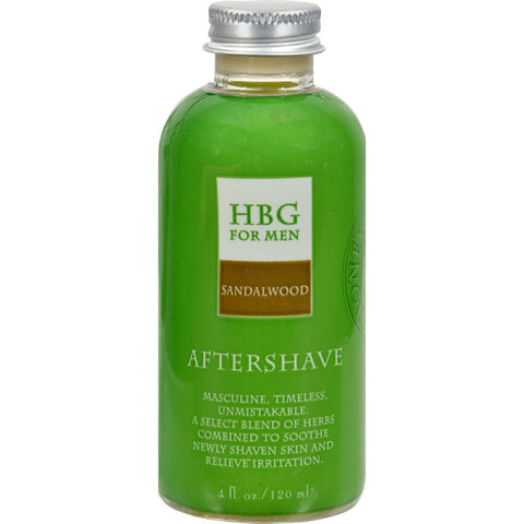 Honeybee Gardens Herbal Aftershave Sandalwood - 4 Fl Oz