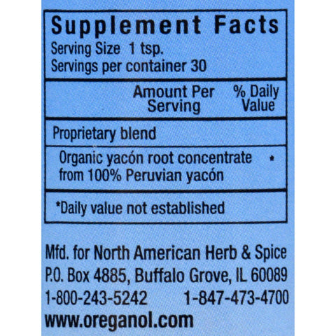 North American Herb And Spice Yac O Powder - 5 Oz