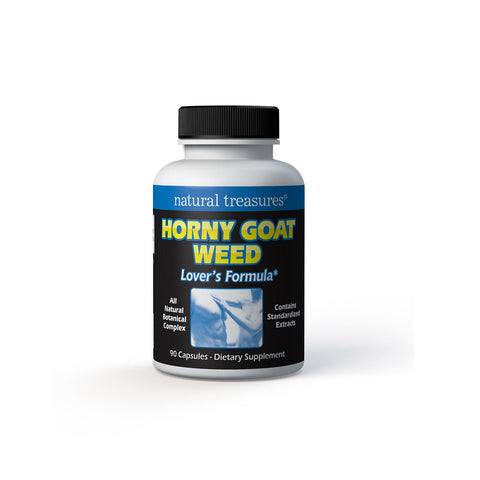 Natural Treasures Horny Goat Weed - 90 Capsules
