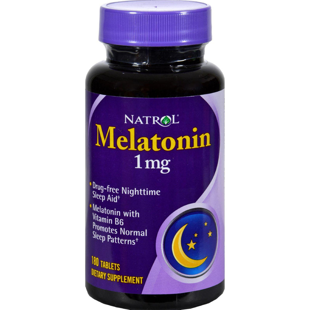 Natrol Melatonin - 1 Mg - 180 Tablets