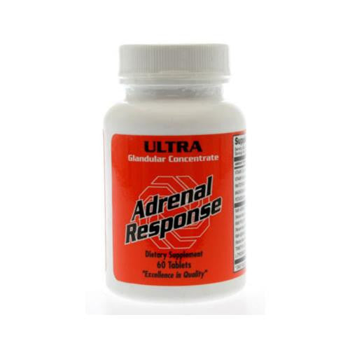 Ultra Glandulars Adrenal Response - 60 Tablets
