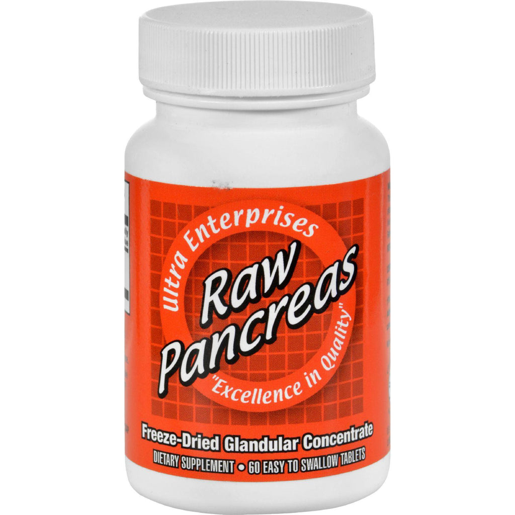 Ultra Glandulars Raw Pancreas - 200 Mg - 60 Tablets