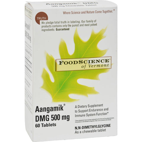 Foodscience Of Vermont Aangamik Dmg - 500 Mg - 60 Tablets