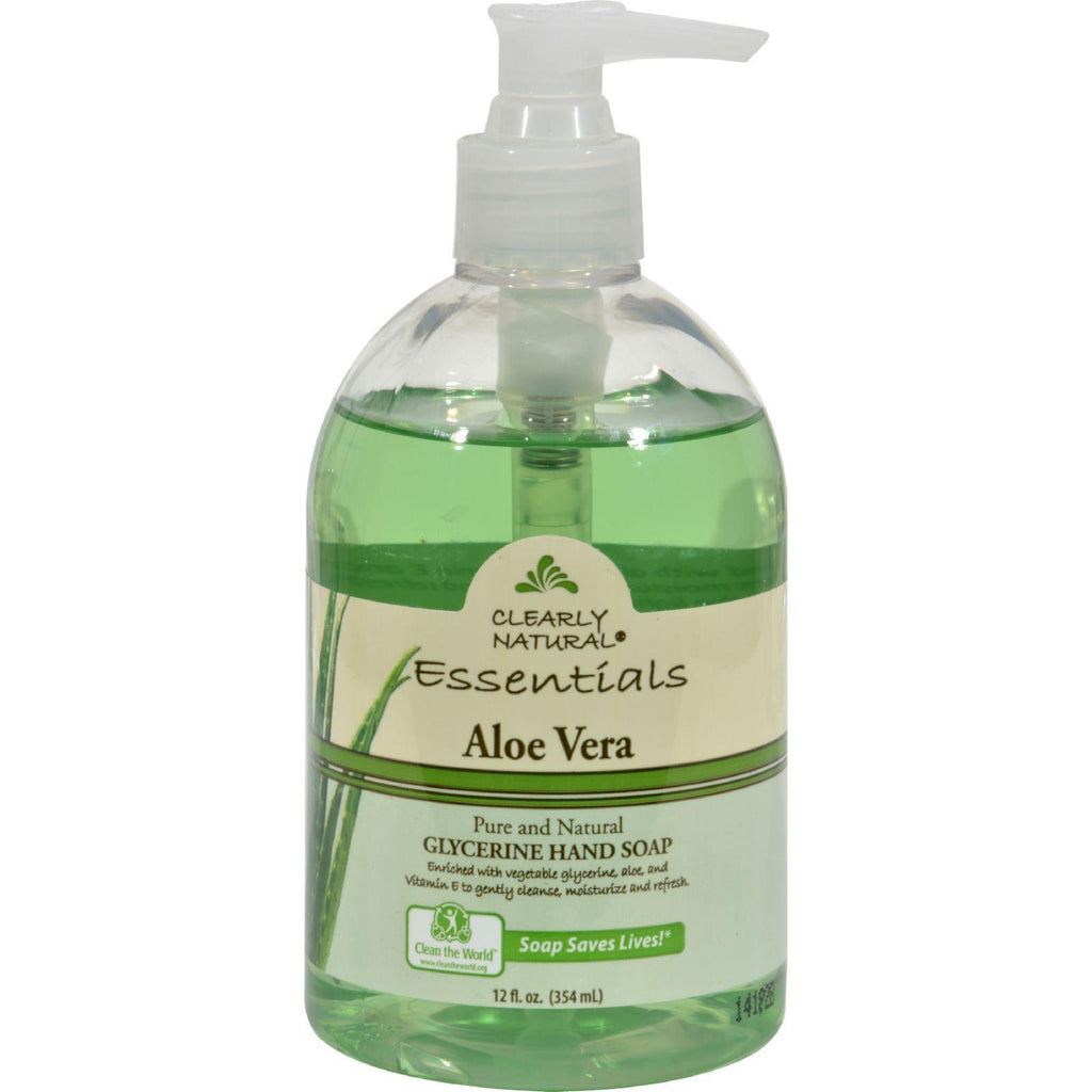 Clearly Natural Pure And Natural Glycerine Hand Soap Aloe Vera - 12 Fl Oz