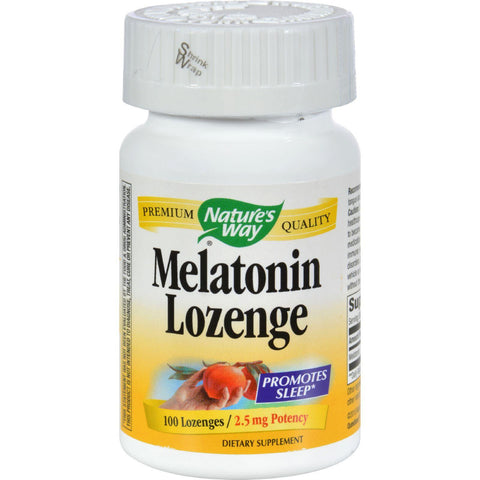 Nature's Way Melatonin Lozenge Fruit - 2.5 Mg - 100 Lozenges