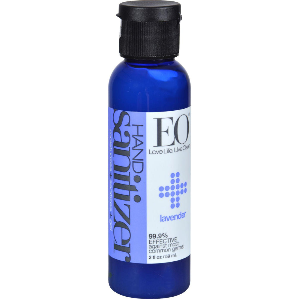 Eo Products Hand Sanitizer - Organic Lavender - 2 Fl Oz - Case Of 6