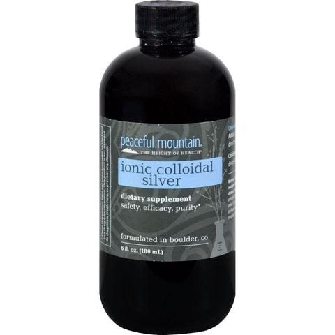 Peaceful Mountain Ionic Colloidal Silver - 6 Fl Oz