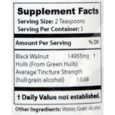 Dr. Clark's Purity Products Green Black Walnut Hull Tincture - 1 Oz