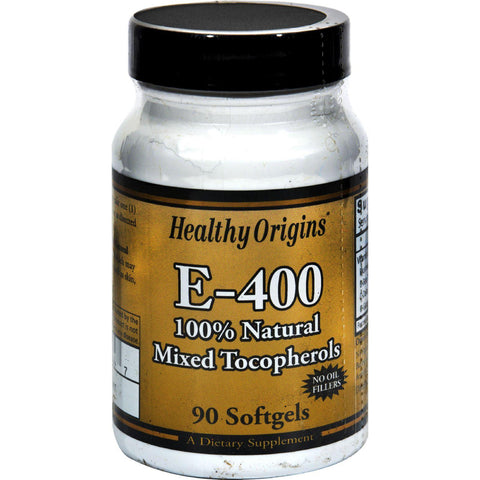 Healthy Origins E-400 - 400 Iu - 90 Softgels