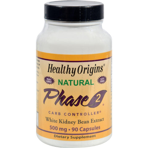 Healthy Origins Phase 2 Starch Neutralizer - 500 Mg - 90 Capsules