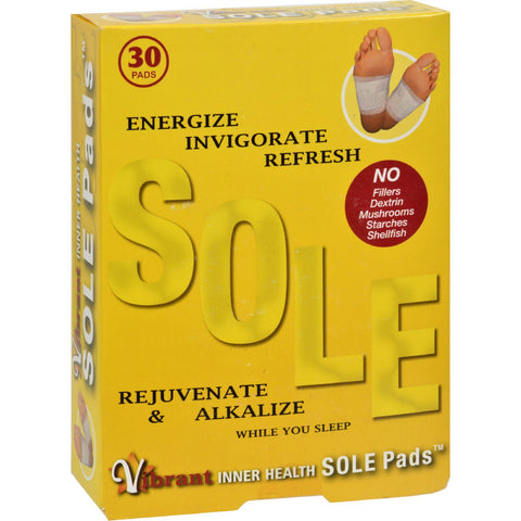 Inner Health Sole Pads - 30 Pads