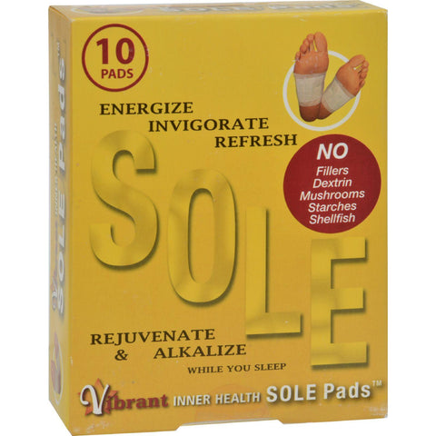 Inner Health Sole Pads - 10 Pack