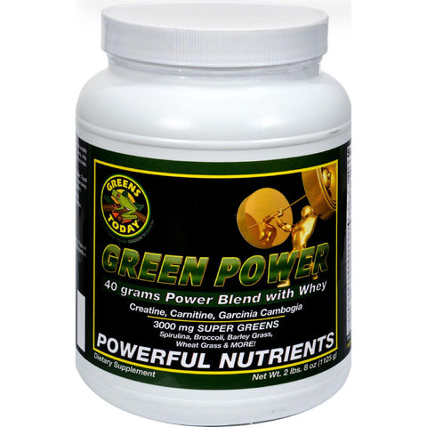 Greens Today Powerhouse Formula Cellular Energy - 2.8 Lbs