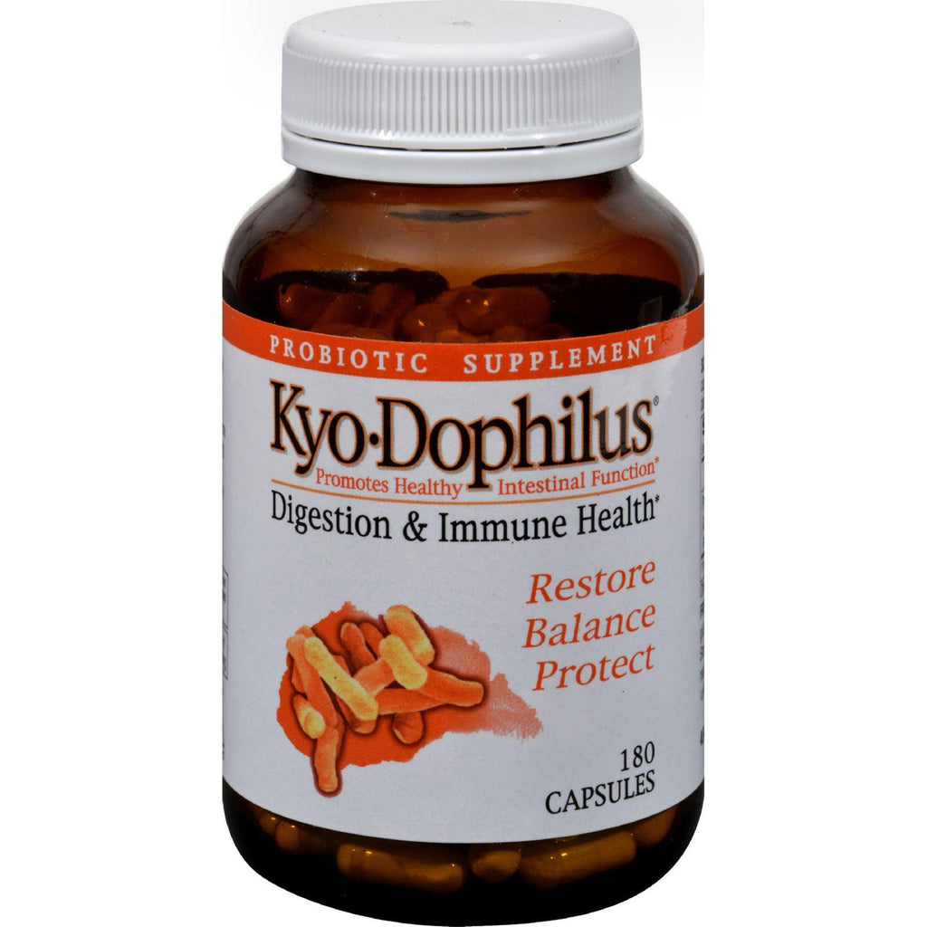 Kyolic Kyo-dophilus Digestion And Immune Health - 180 Capsules