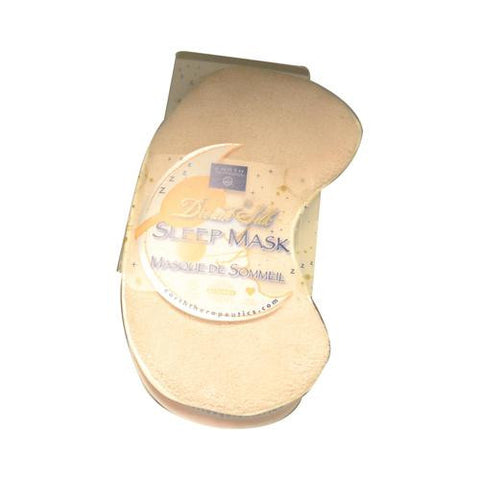 Earth Therapeutics Sleep Mask Ivory - 1 Mask