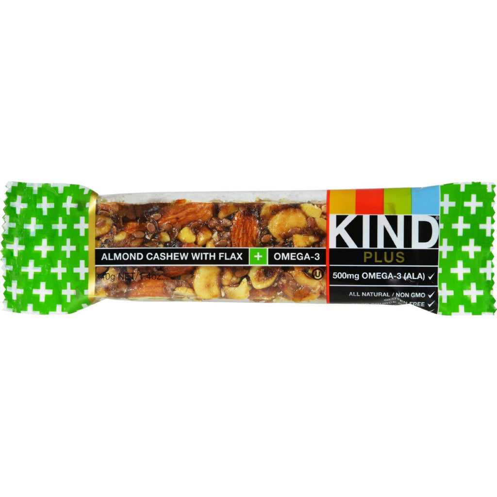 Kind Bar - Almond And Cashew - Case Of 12 - 1.4 Oz