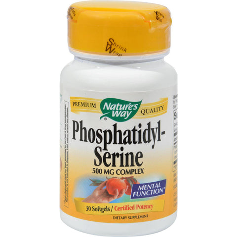 Nature's Way Phosphatidylserine - 30 Softgels