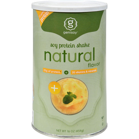Genisoy Soy Protein Powder Natural - 16 Oz