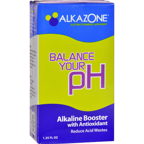Alkazone Alkaline Booster Drops With Antioxidant - 1.2 Fl Oz