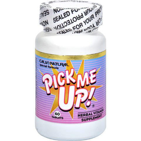 California Natural Pick Me Up Vitamin - 60 Capsules