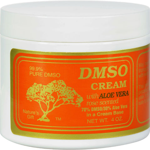 Dmso Cream With Aloe Vera Rose Scented - 4 Oz