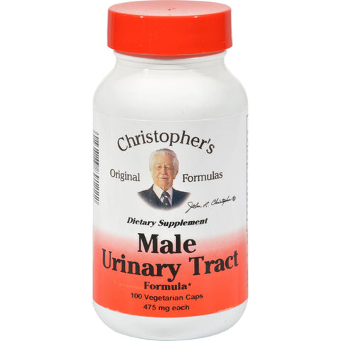 Dr. Christopher's Male Urinary Tract - 475 Mg - 100 Vegetarian Capsules