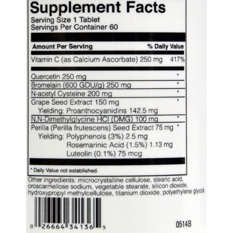 Foodscience Of Vermont Aller-dmg - 60 Tablets
