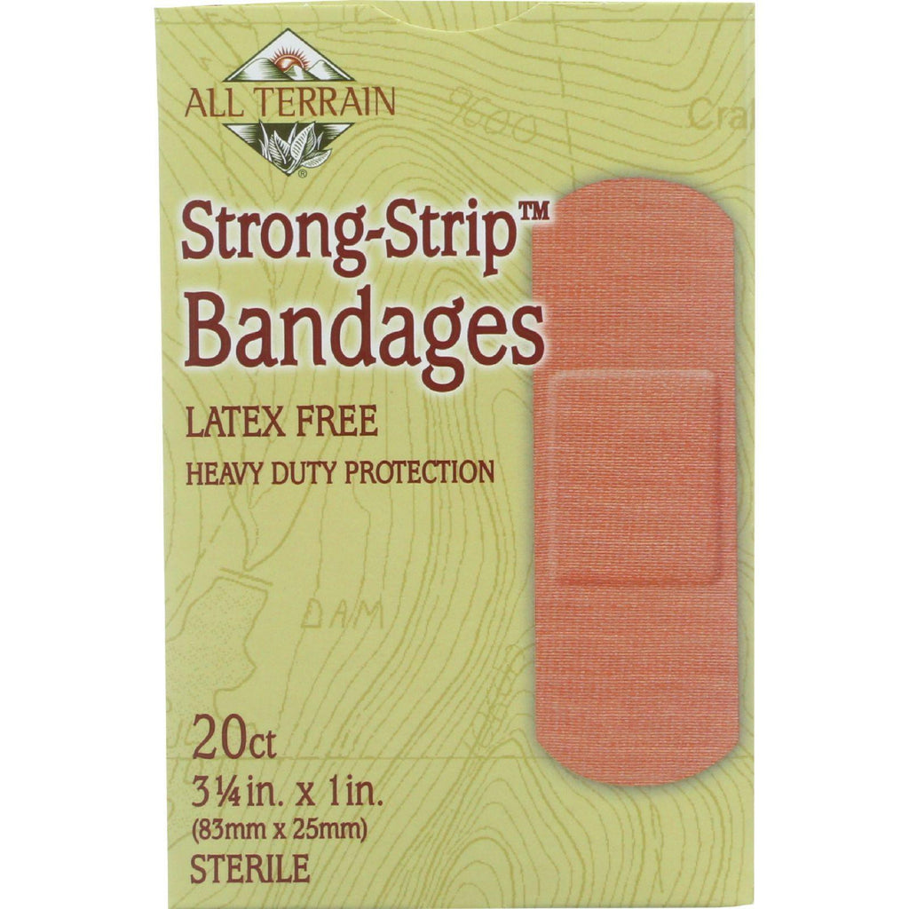 All Terrain Bandages - Strong-strip - 20 Count - 1 Each