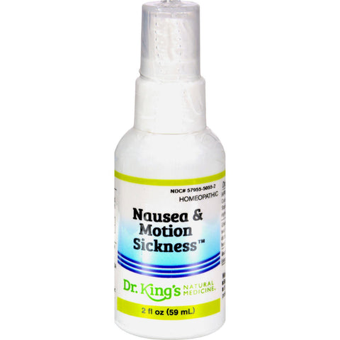 King Bio Homeopathic Nausea And Motion Sickness - 2 Fl Oz