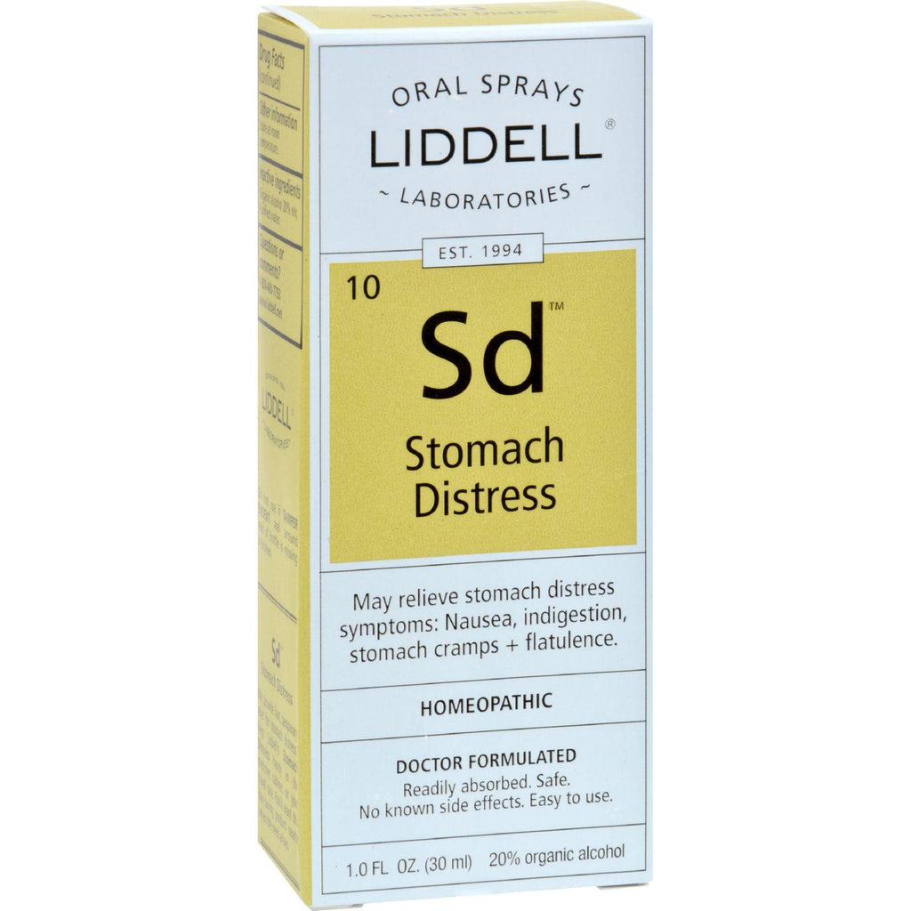 Liddell Homeopathic Stomach Distress - 1 Fl Oz
