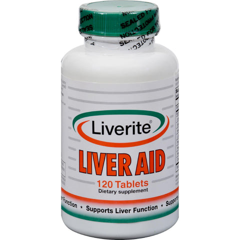 Liverite Liveraid - 120 Tablets