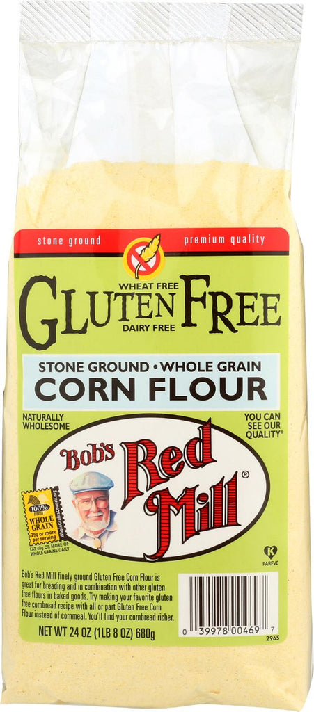 Bob's Red Mill Gluten Free Corn Flour - 24 Oz - Case Of 4