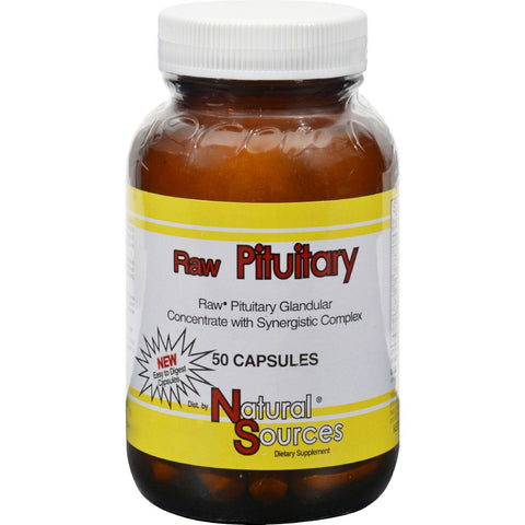 Natural Sources Raw Pituitary - 50 Capsules