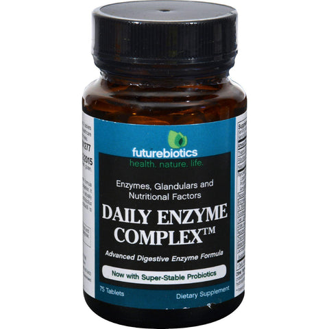 Futurebiotics Daily Enzyme Complex - 75 Tablets