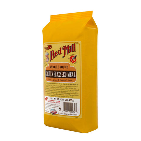 Bob's Red Mill Golden Flaxseed Meal - 16 Oz - Case Of 4