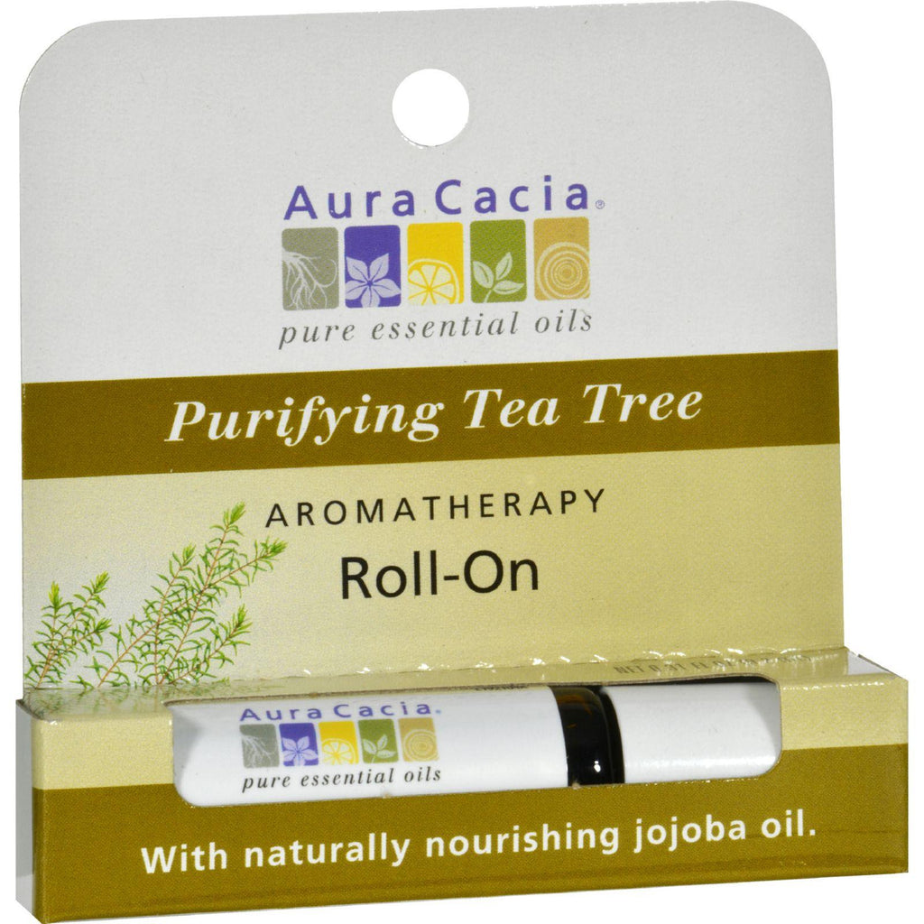 Aura Cacia Cleansing Stick Tea Tree - 0.29 Fl Oz - Case Of 6