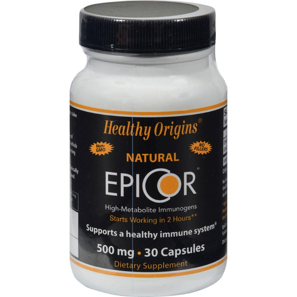 Healthy Origins Epicor - 500 Mg - 30 Capsules