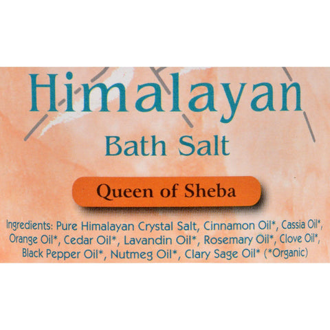 Himalayan Bath Salts Queen Of Sheba - 24 Oz