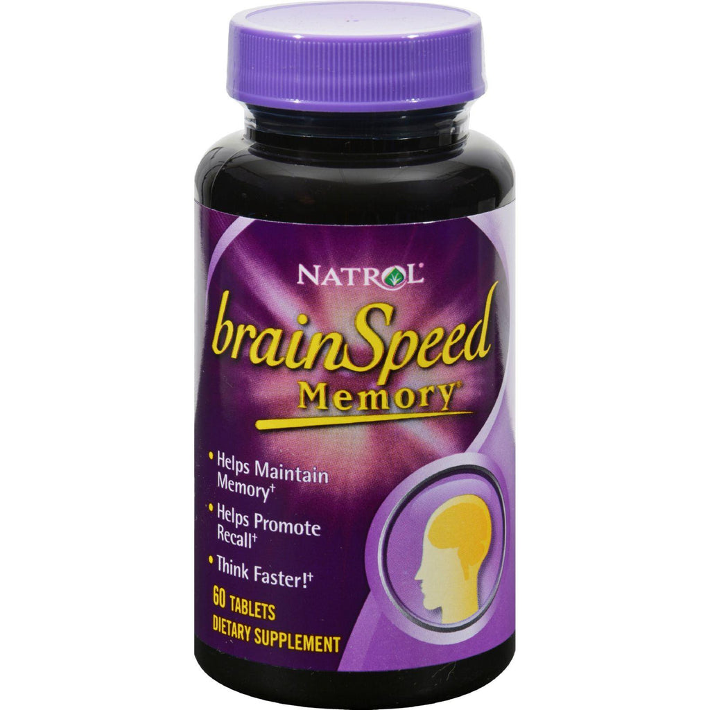 Natrol Brainspeed Memory - 60 Tablets