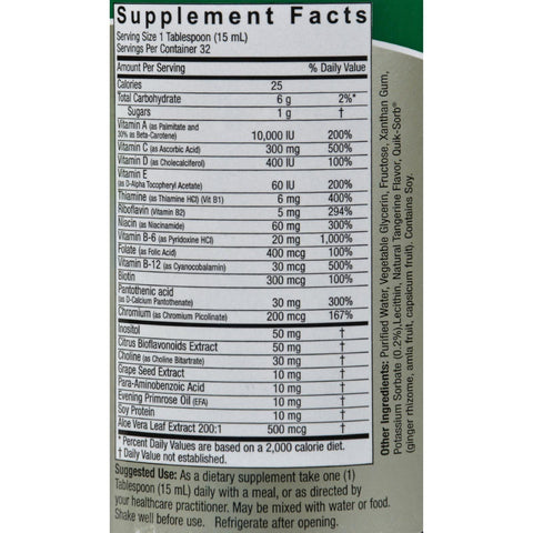 Nature's Answer Liquid Multiple Vitamins - 16 Fl Oz