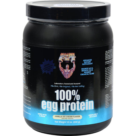 Healthy 'n Fit Nutritionals 100% Egg Protein Vanilla Ice Cream - 12 Oz