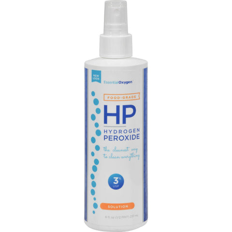 Essential Oxygen Hydrogen Peroxide 3% - Food Grade Spray - 8 Oz