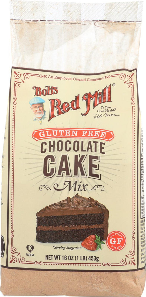 Bob's Red Mill Gluten Free Chocolate Cake Mix - 16 Oz - Case Of 4