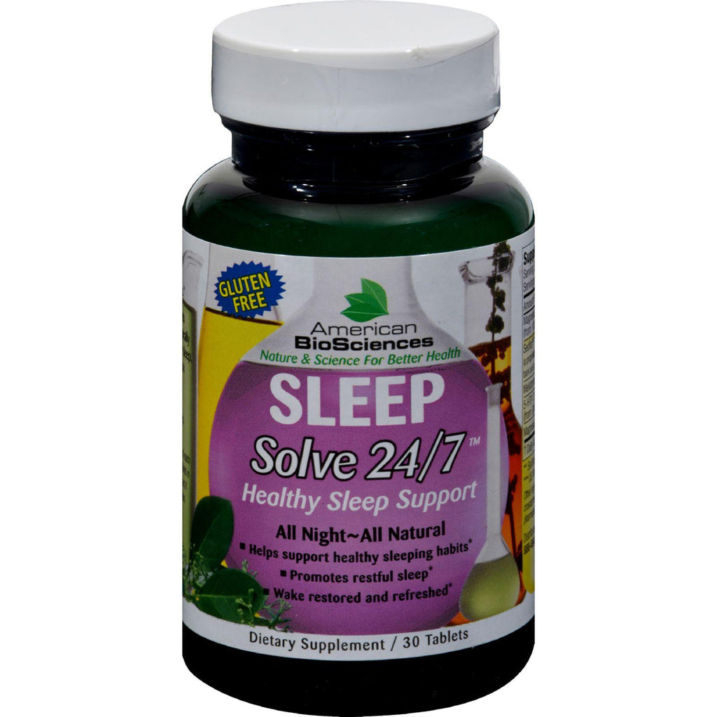 American Bio-science Sleep Solve 24-7 - 30 Ct